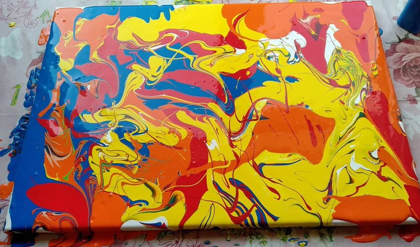Photo of My First Acrylic Pouring Try – What I Learned? Story Of My First Video