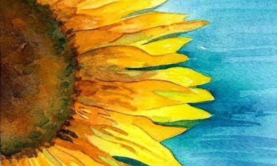 Flower Watercolor Painting Ideas To Try 8