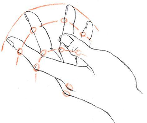 How To Draw Hand Hand Drawing Tutorials 17