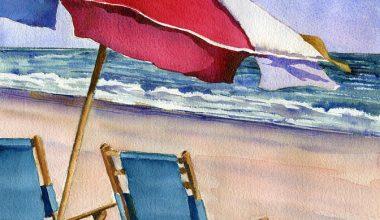 easy beach painting idea 18 1