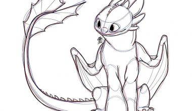 easy dragon drawing 26