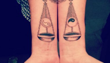 libra tattoo ideas 7
