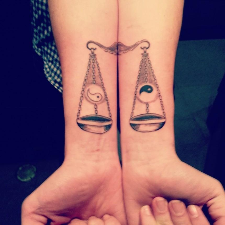 libra tattoo ideas 7