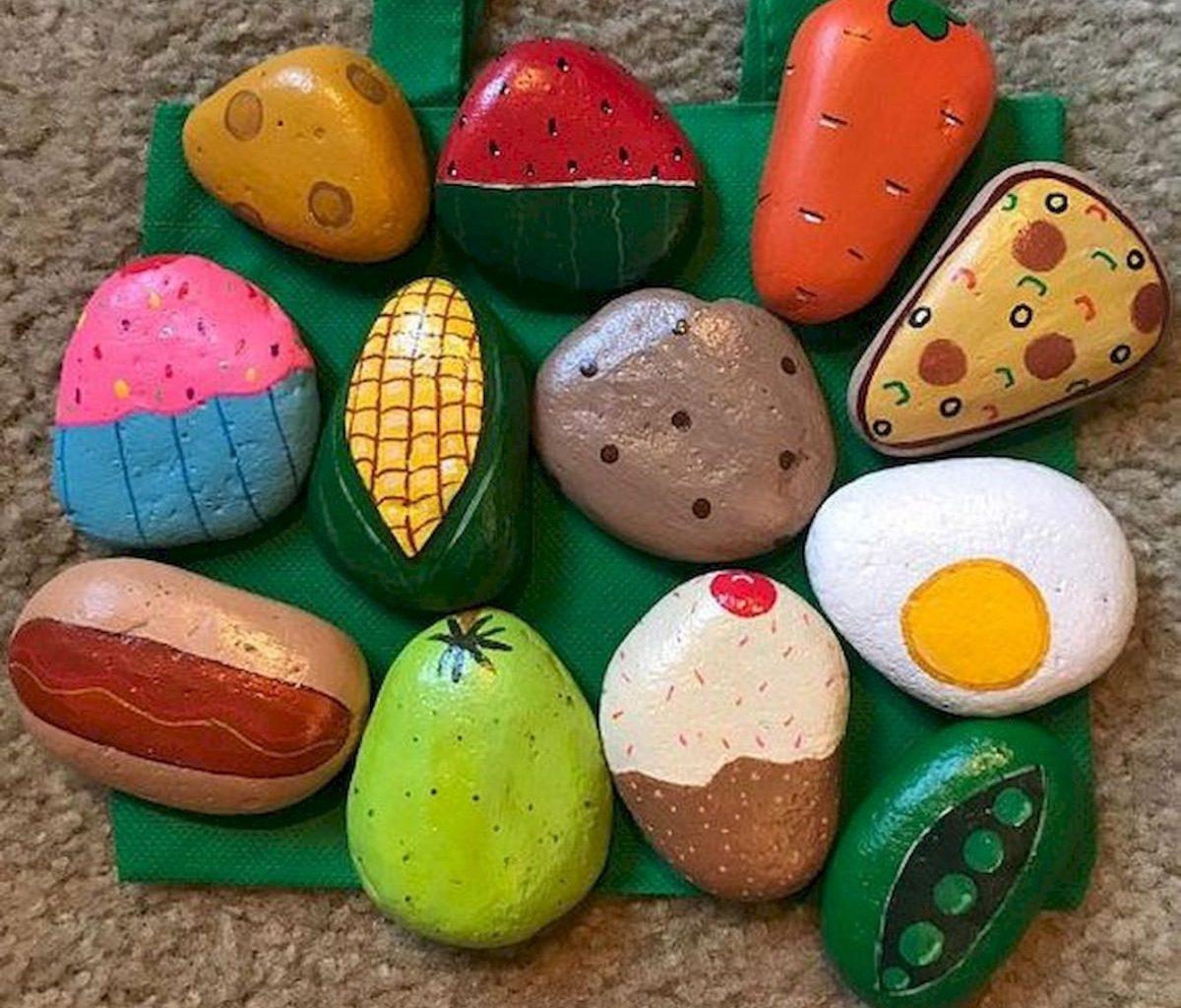 60 Fantastic Rock Painting Ideas For Kids 6