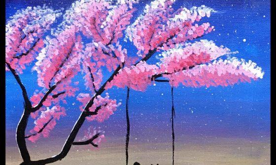 night sky painting 7